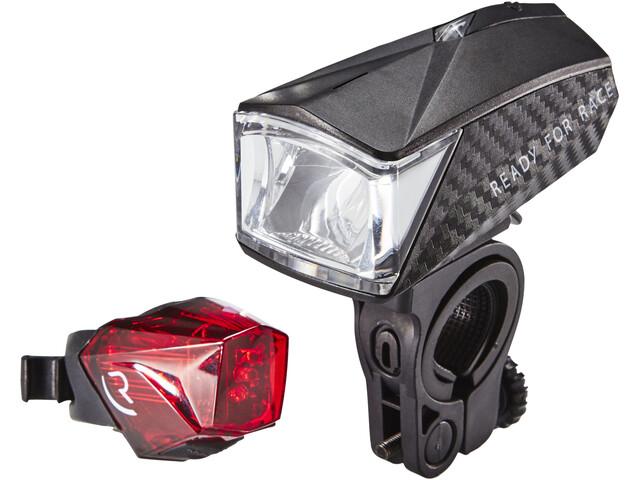 Cube RFR Tour 30 - Kit éclairage vélo - noir